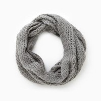 DailyLook: Cozy And Cool Knitted Infinity Scarf