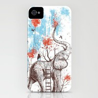 A Happy Place iPhone Case by Norman Duenas | Society6