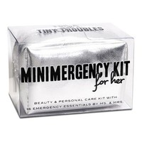 Ms. &amp; Mrs. Minimergency Kit