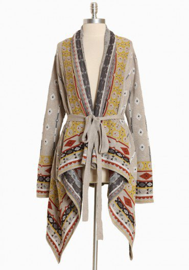 himalayan resort asymmetrical sweater at from ruche my