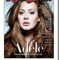 Rolling Stone Cover Adele Heartbreak Superstar Poster