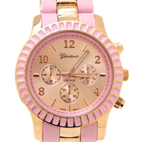 two-tone-watch PINKGOLD - GoJane.com