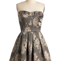 Champagne by Starlight Dress | Mod Retro Vintage Dresses | ModCloth.com