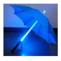 Amazon.com: LED Light Umbrella -Blue with Blue Lighted Rod: Everything Else