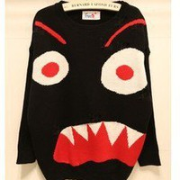 sugar A の the big eyeball tidal range sweater from Fashion Accessories Store