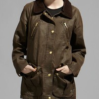 Heritage Giles Waxed Jacket