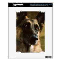 German Shepherd NOOK Decals from Zazzle.com