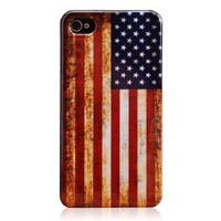 Amazon.com: American Flag Hard Plastic Case for Iphone 4 & 4s: Cell Phones & Accessories