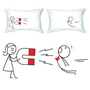 Amazon.com: BoldLoft &quot;You&#x27;re Irresistible&quot; Couple Pillowcases-Romantic Valentine&#x27;s Day Gifts for Couples,Cute Valentines Gifts for Him or Her,Romantic Anniversary Gifts: Home &amp; Kitchen