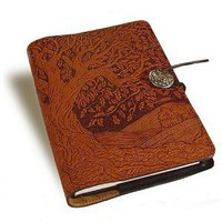 Amazon.com: Tree of Life Embossed Leather Writing Journal, 6 x 9-inch: Home & Kitchen