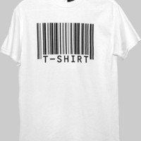 Barcode T-Shirt by Scott Blake