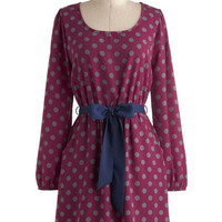 Let's Polka Dot Dress | Mod Retro Vintage Dresses | ModCloth.com