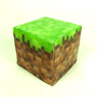 Minecraft Dirt Grass Block  Inspired Soap Cube for Gamers Geeks Children