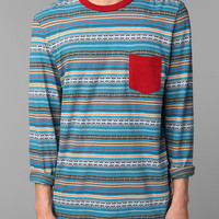 Urban Outfitters - Koto Long-Sleeved Jacquard Tee