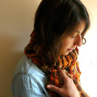 Knit Scarf - Lovely Peach