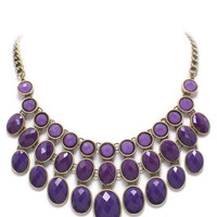 Purple Chloe Necklace – Modeets.com