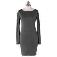 hey, it's in gray classic fitted dress at ShopRuche.com, Vintage Inspired Clothing, Affordable Clothes, Eco friendly Fashion