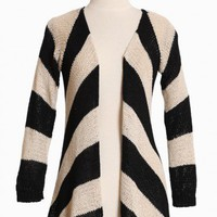 acrostic poetry striped cardigan at ShopRuche.com, Vintage Inspired Clothing, Affordable Clothes, Eco friendly Fashion