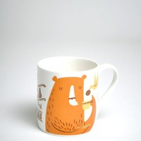 Tea And Bears Mug | The Hambledon