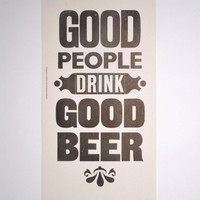 Good Beer Print | The Hambledon