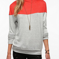 Urban Outfitters - Daydreamer LA Colorblock High Neck Tee