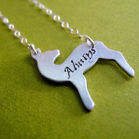 Snape&#x27;s Patronus Necklace | Spiffing Jewelry