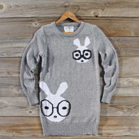Study Group Sweater in Gray, Sweet Country Inspired Clothing