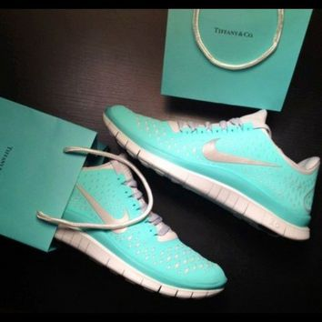 Nike Free Run 3 Womens Tiffany Blue Shoes [Hot Sale Nikes 018] - $52.99 : Buy Tiffany Free Runs Australia, Tiffany Blue Nike Shoes USA, Nike Free Tiffany Blue Running Shoes Cheap For All The Word