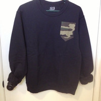 Camo Pocket Sweater