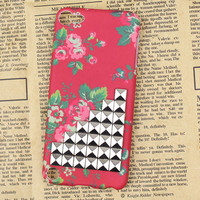 Silver Studs And beautiful Hard Case Cover for Apple Ipod Touch 5, iPod Touch 5th,iTouch 5,iPod Touch 5