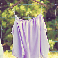 Happily Ever After Top: Lavender | Hope&#x27;s