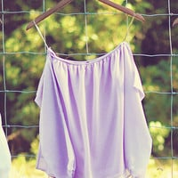 Happily Ever After Top: Lavender | Hope's