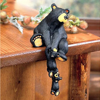 Black Bear Shelf Sitter