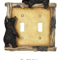 Bear and Twig Switch Covers