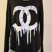 Dripping C&#x27;s Top