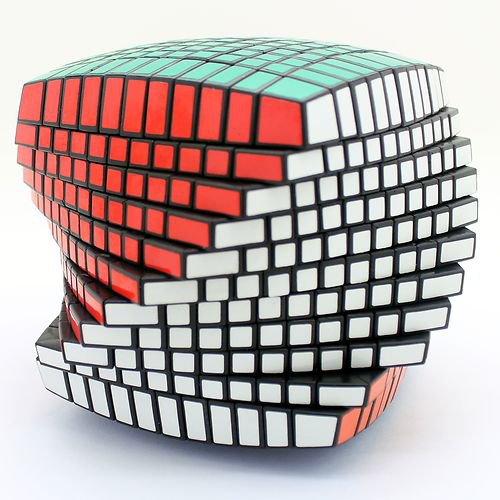 Brand New 11x11x11 magic cube puzzle toy black awesome Christmas gift