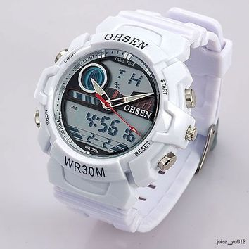 White OHSEN Dual Display...