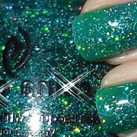 China Glaze Nail Lacquer Polish Atlantis ~Specialty Glitter Collection~ Rare