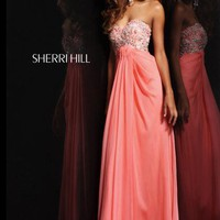 Sherri Hill Dress 3863 at Peaches Boutique