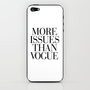 More Issues than Vogue iPhone & iPod Skin by Rex Lambo | Society6