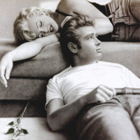 Marilyn Monroe and James Dean Prints at AllPosters.com
