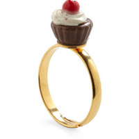 Cupcake Runneth Over Ring | Mod Retro Vintage Rings | ModCloth.com