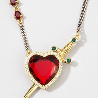 Disney Couture Prince Charming Necklace | Ruby Heart | fredflare.com