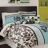Julia Full/Queen Comforter - Roxy