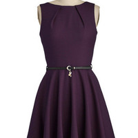 Luck Be a Lady Dress in Violet | Mod Retro Vintage Dresses | ModCloth.com