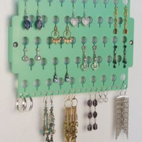 "Wall Mount Earring Holder Rack Hanging Jewelry Organizer Display Closet Storage - Angelynn's ""Earring Angel"" (CLICK TO SEE COLORS)"