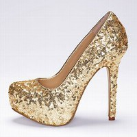 Sequin Supermodel Pump - Colin Stuart - Victoria's Secret