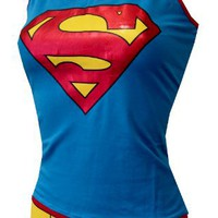DC Comics Enhanced Super Girl Cami Panty Set for women
