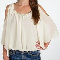 BKE Boutique Chiffon Top - Women's Shirts/Tops | Buckle