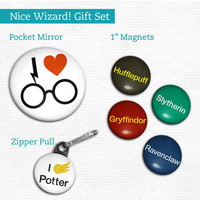 Harry Potter Hogwarts Inspired Gift Set Nice Wizard by hownice